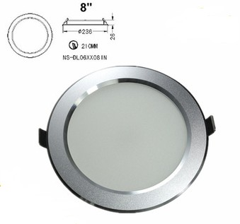 Hot Sale Ultra Slim 20W 8 Inch Recessed LED Down Light