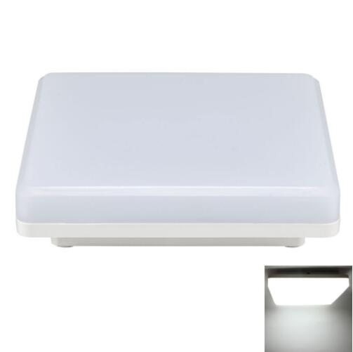 IP44 15W 1050LM White Square LED Ceiling Light