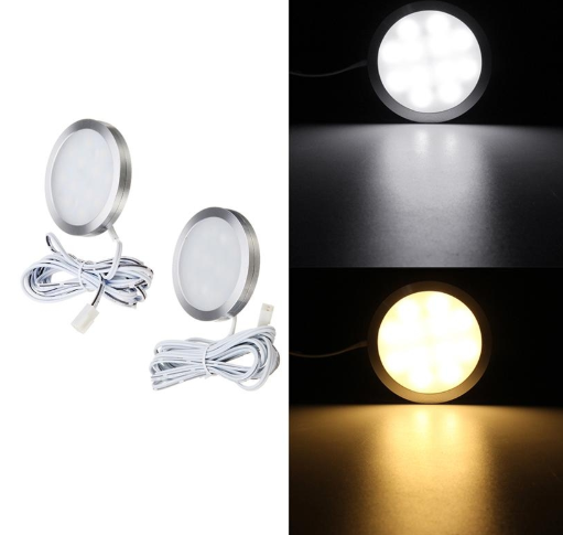 Interior Roof Ceiling Light Cabinet Lamp 2.5W LED Recessed Downlight