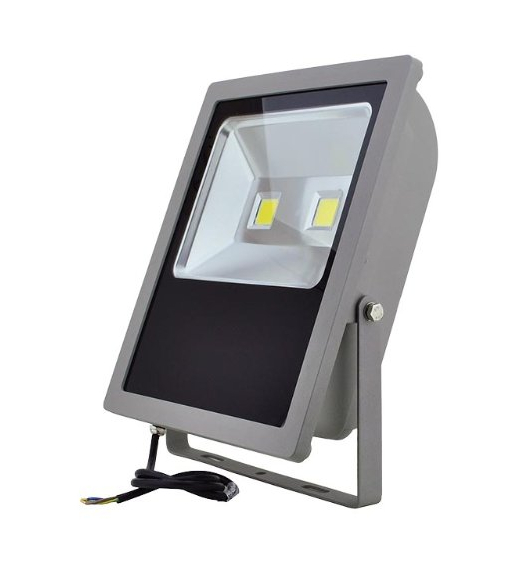 LED Outdoor Security Floodlight Fixture 150-Watt