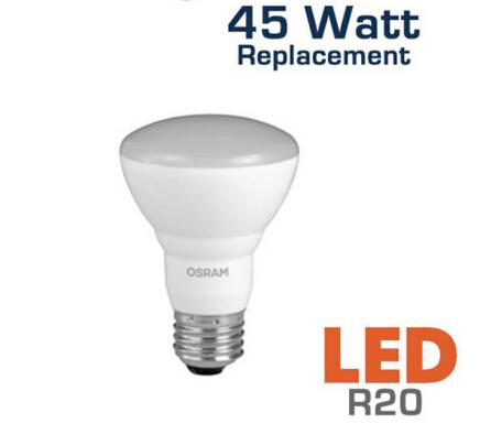 LED R20 5 Watt 45 Watt Equal Dimmable LED Bulb