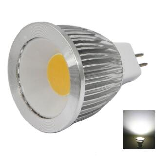 MR16 3W COB White Light LED Spotlight Bulb