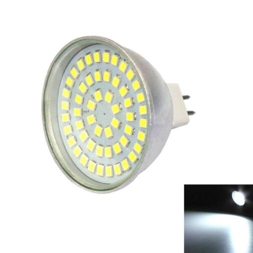 MR16 4W 6000K 400LM 54-2835SMD Cool White LED Spotlight