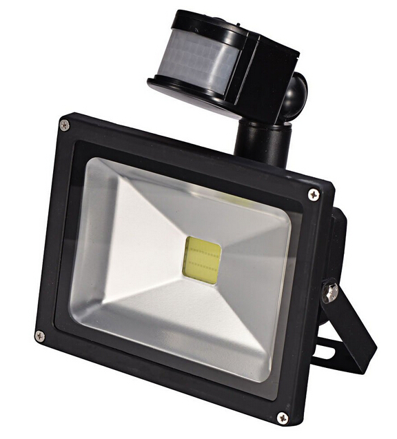 Motion Sensor White LED Flood Light Induction Sense