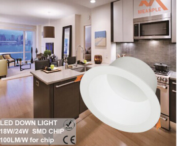 Newest SMD Chip high luminous LED downlight