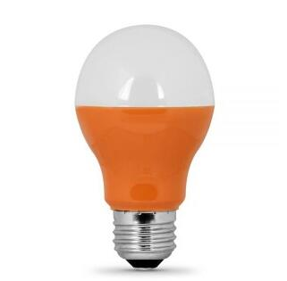 Orange E26 120V 3W LED Bulb
