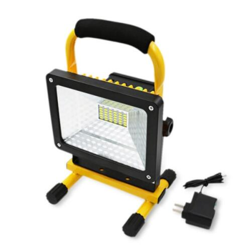 Portable Rechargeable 30W 36 LED Flood light
