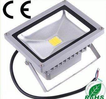 Pure White 20W Outdoor Landscape Lamp LED Flood Light