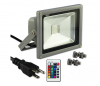 RGB Color Changing LED Flood Light with Memory Function