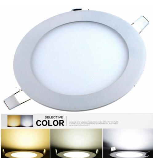 SMD5630 6W 2880lm 6000K-3000K-4500K LED Downlight