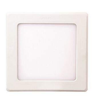 Square 12-Watt Slim LED Downlight