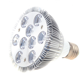Super Quality Led Plant Light e27 220v 9W 85-265V Hydroponic Bulb
