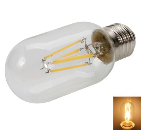 T45 E27 2W 2200K Warm White LED Filament Bulb