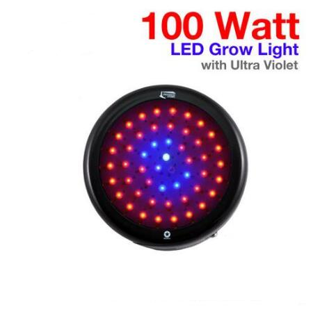 UFO 100 Watt LED Grow Light with UV