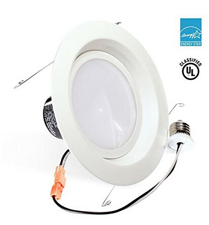 UL-listed Dimmable LED Downlight Retrofit Recessed Lighting Fixture