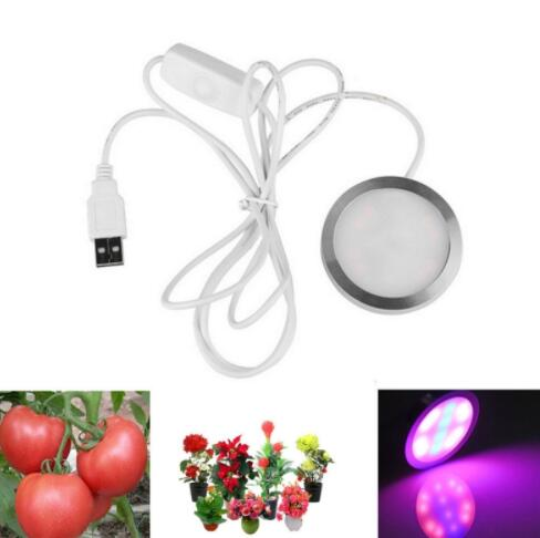 USB 4W 12-LED Full Spectrum Plant Grow Light