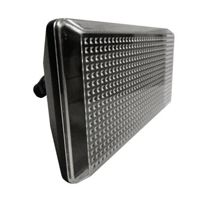 Wall Mount Outdoor Black LED Flood Light