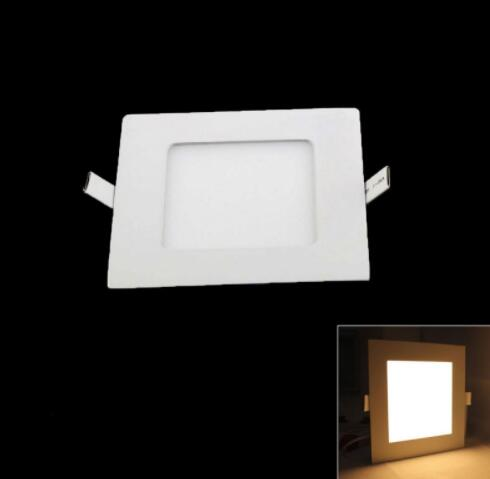Warm White 15W 1350LM 3000K Ultra Slim Square LED Downlight
