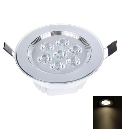 Warm White 7W 7LED 580LM LED downlight