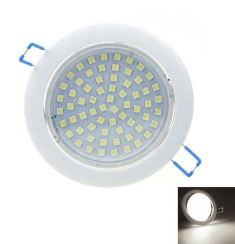 White 12W 66SMD 5050LED 6000-6500K LED Downlight