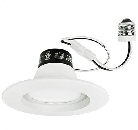 White Trim 14W LED Downlight 820 Lumens
