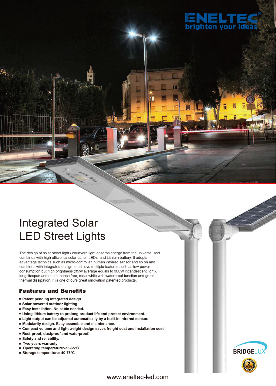 Integrated Solar LED Street Lights1
