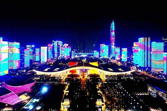 Jiangsu Nantong Tongzhou District public lighting system application of LED lamps more than 17,000