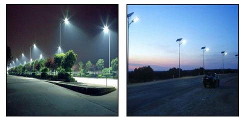 UL driver IP65 LED outdoor solar wind led street light application