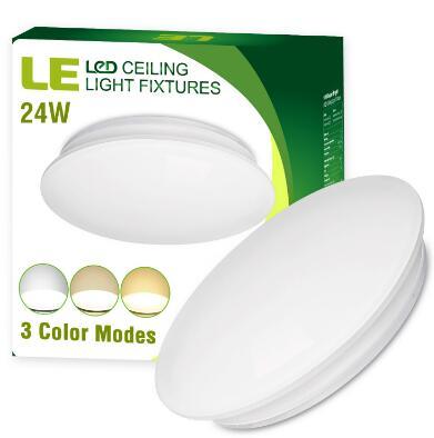 3 Color Temperature 24W LED Downlights