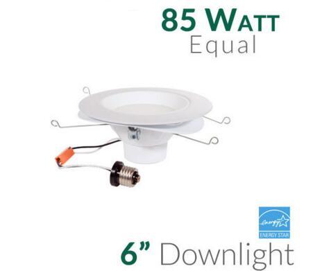 6 inch 18 Watt LED Recessed Downlight