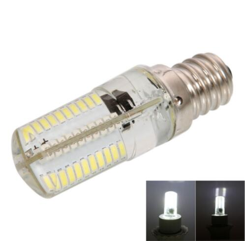 E12 4W SMD3014 Dimmable Silicone LED Corn Light