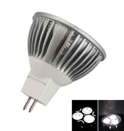MR16 3W 240 Lumen Pure White LED Light Bulb
