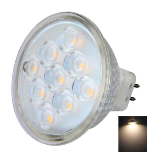 MR16 3W 9-LED SMD2835 LED Spotlight