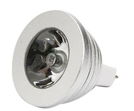MR16 3W Color Changing Dimmable LED Spot light
