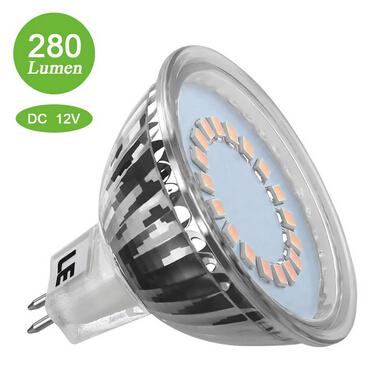 MR16 GU5.3 3.5W LED Bulbs 280lm