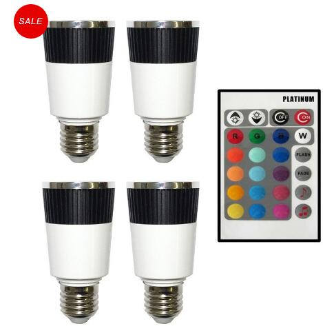Music Color Changer E27 LED Bulb