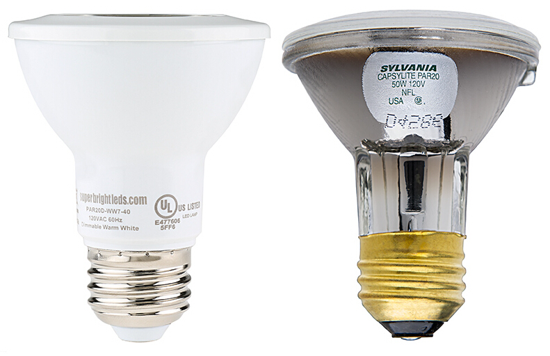 PAR20 LED Bulb 7 Watt 620Lm Dimmable LED Spotlight
