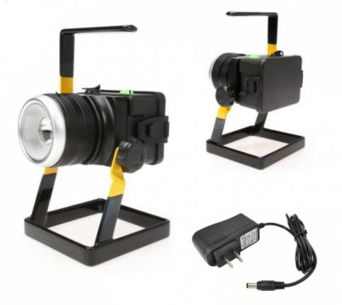 Rechargeable Outdoor  350 Lumen LED Flood Spot Lamp