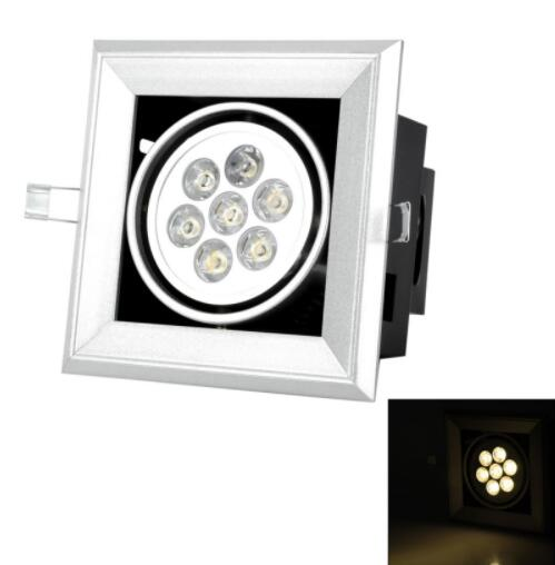 Warm White 7W 3500K LED ceiling lamp